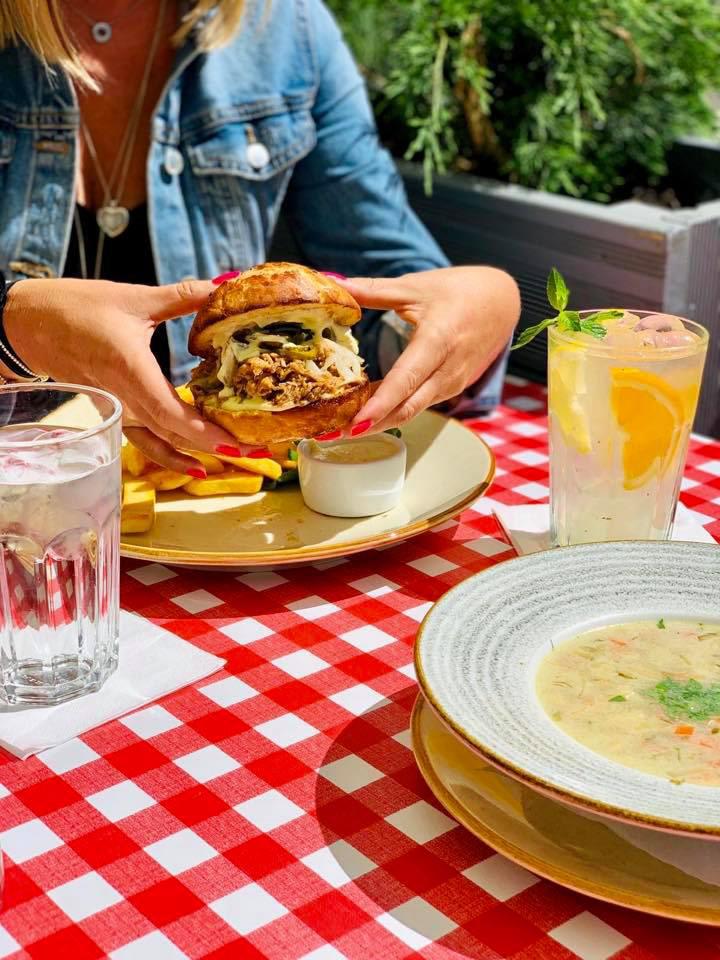 Foto burgera Zante