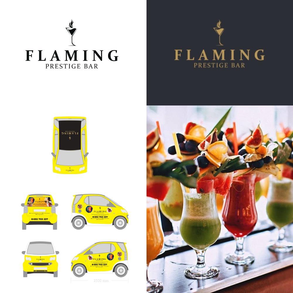 Flaming Prestige logo