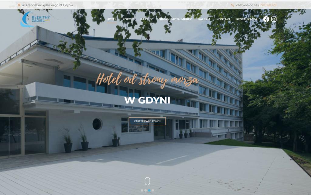 Hotel Błękitny Żagiel www