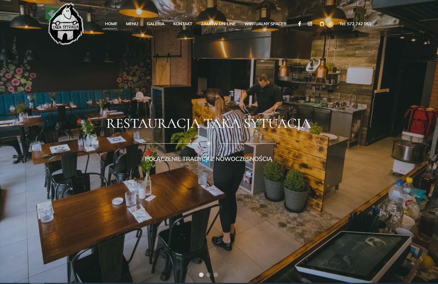 Restauracja Taka Sytuacja www